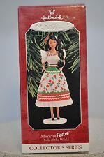 Hallmark - Mexican Barbie - Dolls Of The World - Keepsake Ornaments