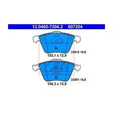 ATE 13.0460-7204.2 Bremsbelagsatz, Scheibenbremse  Links Saab 9-3 9-3 Kombi