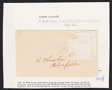 Corn Island 1902-1903, Nicaragua to Bluefields LOCAL 5c Provisional Rare cover
