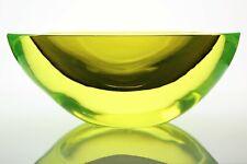 Supersize Antonio Da Ros uranium glass Géode de Gino Cenedese & C., Murano 1960