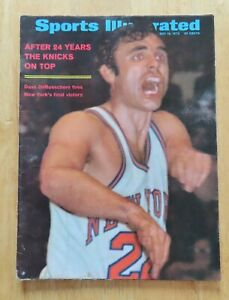 DAVE DeBUSSCHERE Sports Illustrated May 18 1970 Magazine No Label NY KNICKS