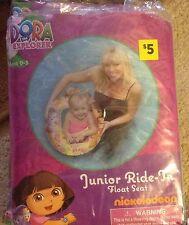 """Disney's Dora Junior Ride-in float seat,  25"""" ages 0-3"""
