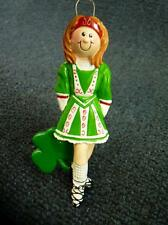 Rudolph & Me IRISH STEP DANCER Christmas Ornament NEW with Tag (o2205)