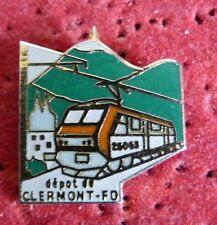 BEAU PIN'S TRANSPORT TRAIN SNCF DEPOT CLERMONT FERRAND PUY DE DOME EGF