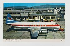 Cambrian Airways,Vickers Viscount 700 Airliner,IOM, U.K.Ronaldsway Airport,c'50s