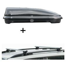 Dachbox FL320L+Dachträger CRV135 für Volvo 940 5Türer 90-99