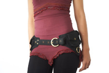 Utility Belt Festival Pocket Belt Fanny Pack Hip Bag Travel Money Belt Pouch