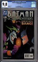 Batman Gotham Adventures 60 CGC Graded 9.8 NM/MT Last Issue DC Comics 2003