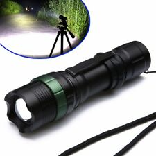 Tactical 10000LM LED 3Modi Zoombar Rechargeable 18650 Taschenlampe Torch Light