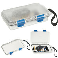 Waterproof Container Hard Case Phone Storage Dry Box Clear Survival Gear Protect