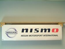 Nissan Nismo Banner Motorsport Workshop Garage Japanese Car Show Club Display