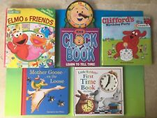 Lot Of 5 Children's Books For Early Childhood Development and Reading