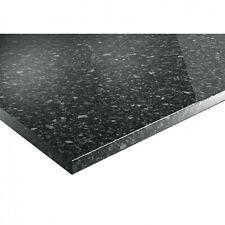 Worktop Black Slate Gloss Worktop 3000 x 600 x 38mm PEFC