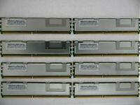 32GB (8x 4GB) PC2-5300F FULLY BUFFERED SERVER RAM FOR DELL POWEREDGE 2900
