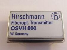 Osvh 800 Hirschmann Hybrid video transmisor módulo para fiberoptics