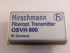 Osvh 800 Hirschmann ibrido video modulo trasmettitore per fiberoptics