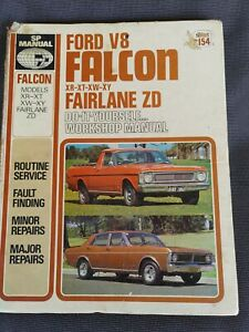 Ford V8 Falcon XR-XT-XW-XY Fairlane ZD Workshop Manual