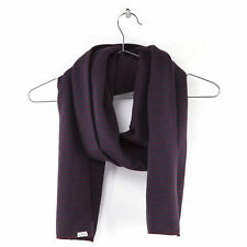 Levi's Men's Limit Stripe Scarf Bordeaux