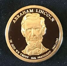 2010-S Abraham Lincoln Proof Presidential Dollar Cameo Free Shipping