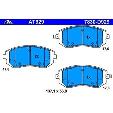 Ate AT929 / D929 PremiumOne Disc Brake Pads