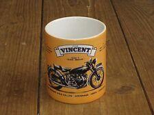 Vincent Series C Black Shadow Motorbike Advertising MUG