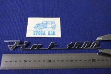 FIAT 1500  SCRITTA IN METALLO CROMATO N.O.S.