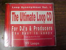 Loop Synonymous Vol. 1.  The Ultimate Loop CD.  For DJ's & Producers. 4DJ's