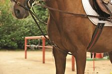 Dreieckszügel mit Edelstahlbeschlägen braun u schwarz Pony WB  HKM 6848  NEU