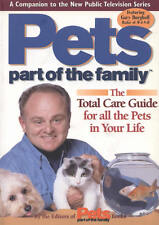 Pets, Part of the Family: Total Care Guide for All the Pets NEW BOOK 2nd Quality