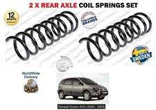 FOR REANAULT SCENIC RX4 1.9 DCI 2.0 16V 2000-2003 NEW 2 X REAR COIL SPRINGS SET