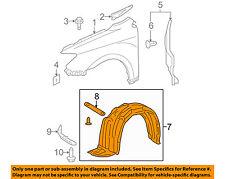 Scion TOYOTA OEM 05-10 tC-Front Fender Liner Splash Shield Left 5387621060