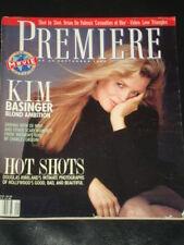 PREMIERE magazine 1989 Kim Basinger, Robert DeNiro Charles Grodin Brian de Palma