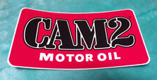 "CAM2 ~ CAM 2 ~ MOTOR OIL ~ STICKER DECAL ~ 5"" x 2.5"""