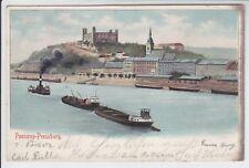 AK Bratislava, Pressburg, Teilansicht Litho 1902