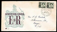 1959 THIRD QUEEN ELIZABETH II PRE-DECIMAL STAMP ROYAL FIRST DAY COVER #59.18
