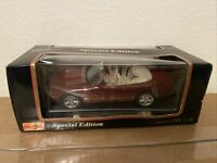 Maisto Jaguar XK8 Convertible 1996 Special Edition Red 1:18 Scale Diecast Car