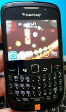 BlackBerry 8520 Curve (DESBLOQUEADO) SMARTPHONE condición Inmaculada Sin Sim Cámara