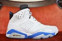 Nike Air Jordan 6 XI Sport Blue White Size 10 384664-107 8.5/10 Cond. OG ALL