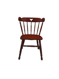 TELL CITY Colonial Style Solid Hard Rock Maple Dining Side Chair 8018  #48