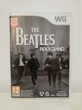The Beatles: RockBand Wii Game PAL Mint Condition Fast Free Postage
