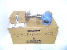 Rosemount 3051S1 TG1A2B11A1ADA2E5M5Q4 (-5-5PSI Transmitter w/ 1199 Seal 2013 NEW