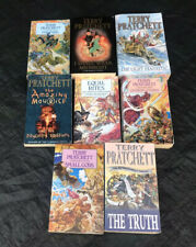 Terry Pratchett Bundle Books Paperback Truth Amazing Maurice Small Gods Equal