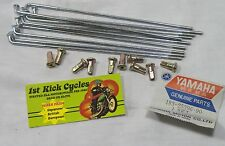 NOS YAMAHA INNER SPOKES 10 Pc 1968-1976 YACS HT1 DT100 RD125 MX100 183-25396-90