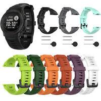 Ersatzband Silikon Uhrenarmband Uhrenarmbänder Für Garmin Instinct Uhr Armband