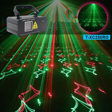200mw Red Green beam scan laser light sound country DMX stage Xmas party light