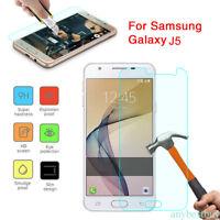 1X Protector de Pantalla Cristal Templado Vidrio para Samsung A3 A5 A7 J7 J3 J5