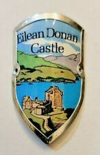 Eilean Donan Castle, UK Stocknagel, Hiking Medallion, Badge, Shield, Pin, GP5-33