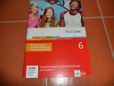 Red Line 6 Standardaufgaben mit Lehrersoftware und Audio CD