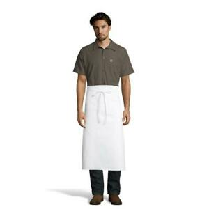 White 4 Way Chef Apron by Uncommon Threads NWT