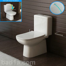 Stand WC mit Taharet GEBERIT Spülgarnitur Toilette inkl. Spülkasten Komplett-WC